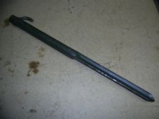Metal tent peg. 8 inches long.